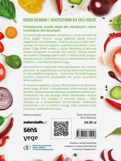 Roślinna kuchnia rodzinna – okładka IV
