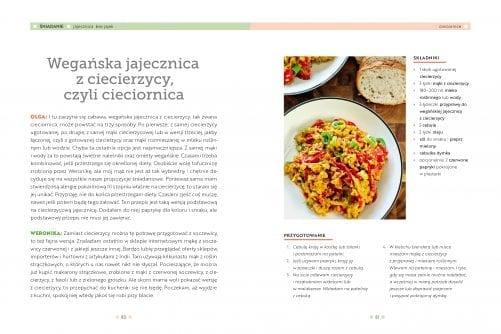 Roślinna kuchnia rodzinna – przykład cieciornica