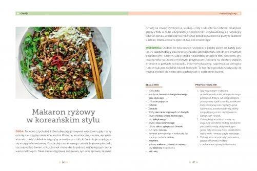 Roślinna kuchnia rodzinna – przykład makaron ryżowy