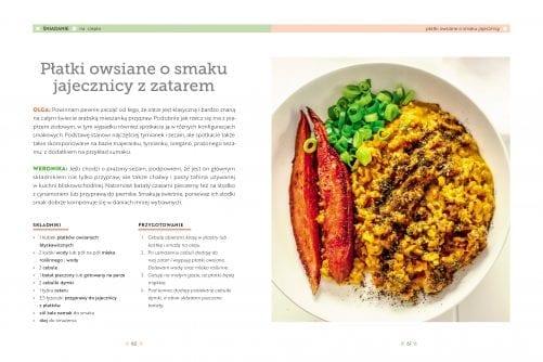 Roślinna kuchnia rodzinna – przykład płatki owsiane